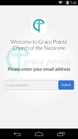 android Grace Pointe Church Nazarene Screenshot 1