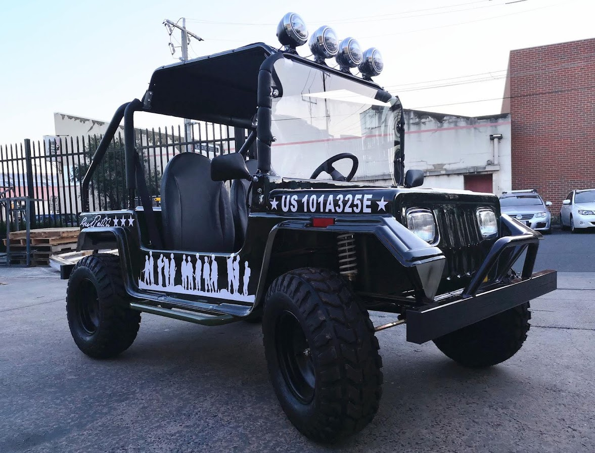 200cc Classic US Jeep Offroad Dune Buggy Hunter Gocart