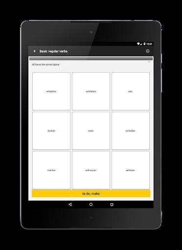 Verben - Trainer screenshot 9