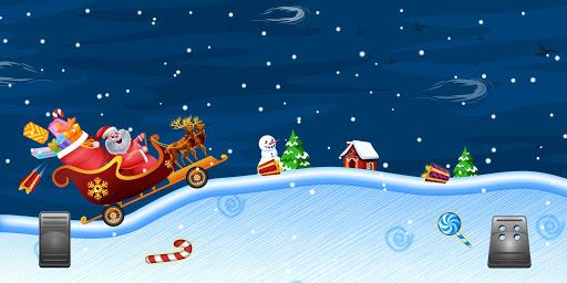 Télécharger Gratuit Santa The Racing Game apk mod screenshots 4
