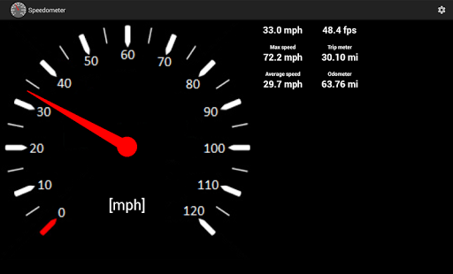 Speedometer screenshot 7