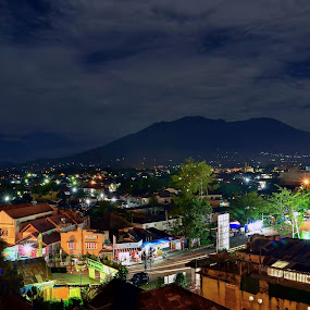 Bukittinggi by Twin Chan - Landscapes Starscapes ( night, lights )