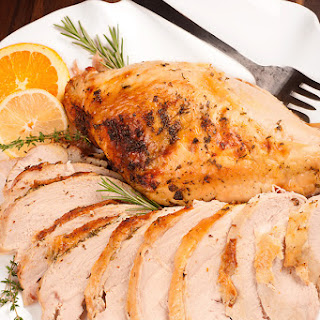 Roast Turkey Breast with Citrus-Herb Butter
