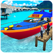Game Water Taxi: Real Boat Driving 3D Simulator APK for Windows Phone