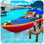 Water Taxi: Real Boat Driving 3D Simulator Icon