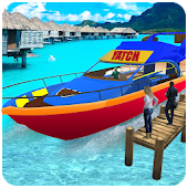 Water Taxi: Real Boat Driving 3D Simulator