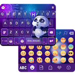 Panda Dream Emoji Keyboard Icon