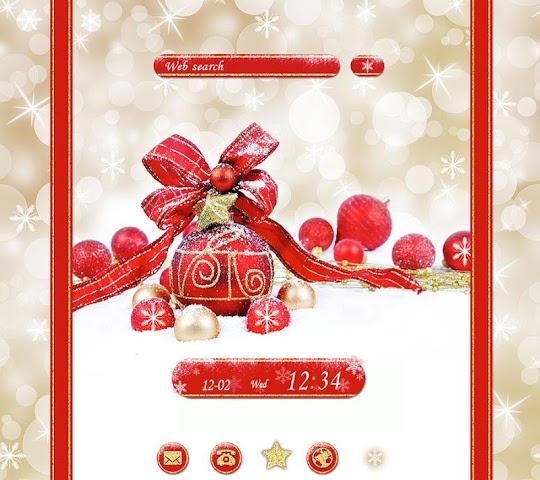 android Cute wallpaper-Merry Christmas Screenshot 0