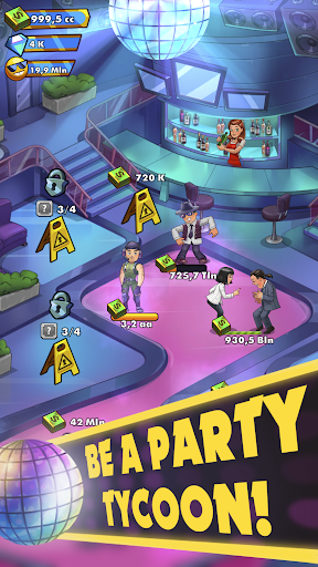 Party Clicker u2014 Idle Nightclub Game apkpoly screenshots 5