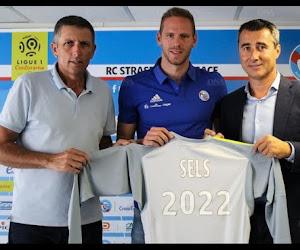 Matz Sels a effectué ses débuts avec Strasbourg