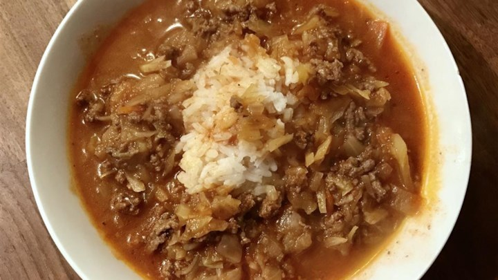 Passover Unstuffed Cabbage Soup Recipe