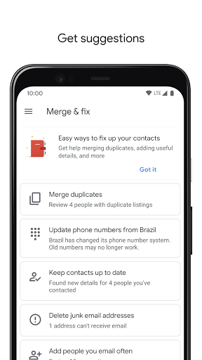 Contacts 3.33.2.335052592 screenshots 6