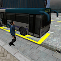 3D City driving - Bus Parking icon