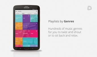 Screenshot of Superplayer Music Playlists