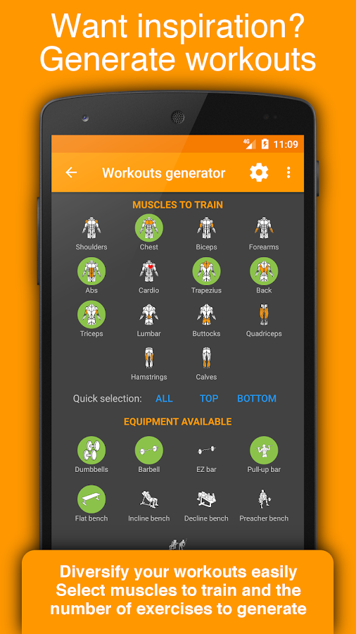 Workout Tracker & Gym Trainer - Fitness Log Book- screenshot