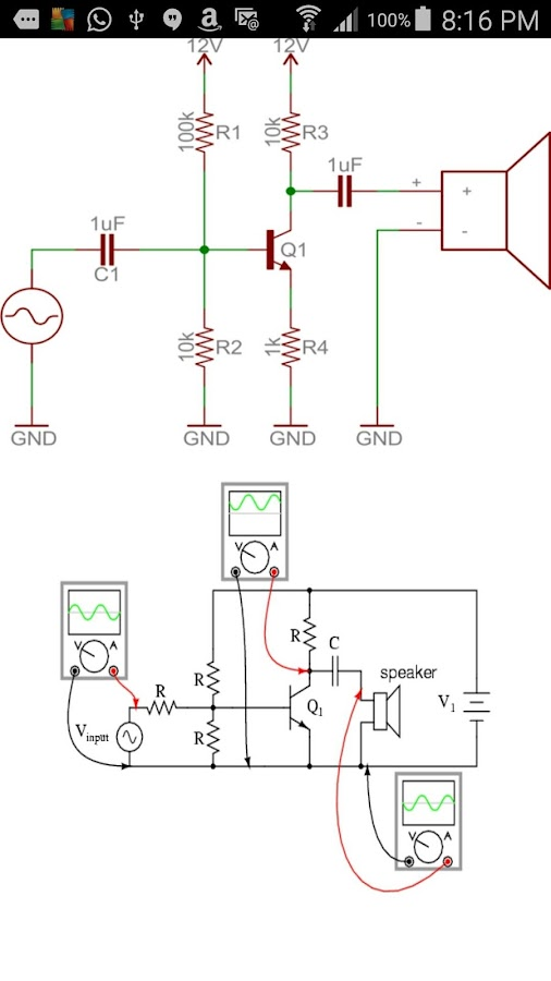 Electronics Circuits- screenshot