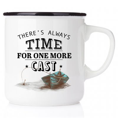 Emaljmugg - Always time for one more cast