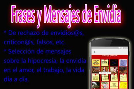 Frases De Envidia Lietotnes Pakalpojuma Google Play