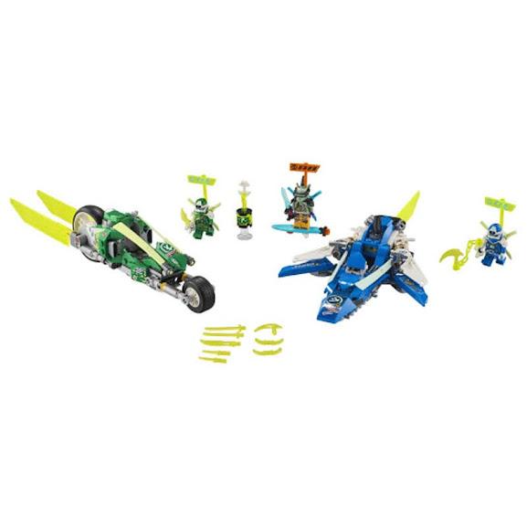 Contenido de Lego® 71709 Vehículos Supremos de Jay y Lloyd