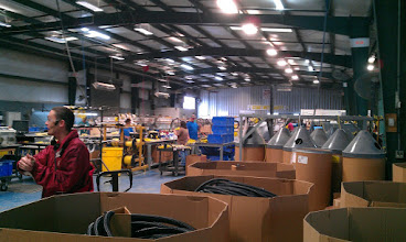 Photo: Tiffin Wiring Harness Assembly Area