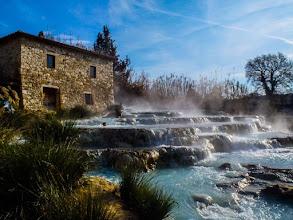 Photo: Cascate del Gorello, Terme di Saturnia, Tuscany, Italy. More at  http://blog.kait.us/2013/03/terme-di-saturnia.html