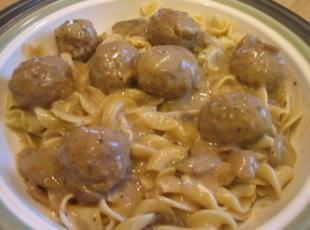 Easiest Meatballs & Noodles, Ever Recipe