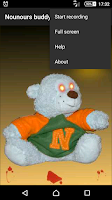 Screenshot of My buddy Nounours