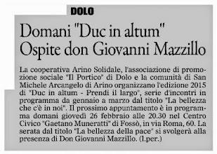 Photo: Il Gazzettino di Venezia (25.02.2015)