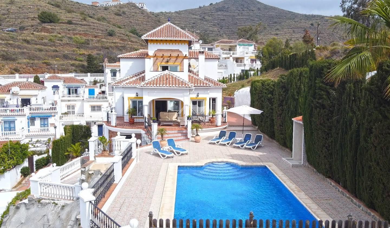 Villa avec piscine et terrasse Nerja
