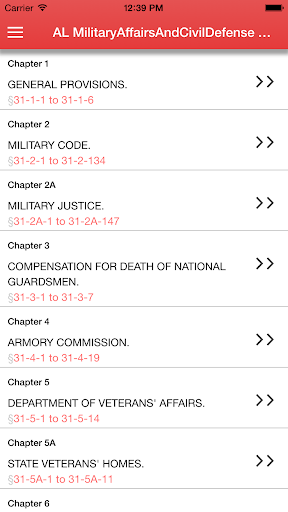 AL Military Affairs Civil