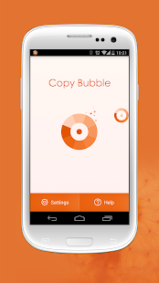 Copy Bubble Screenshot