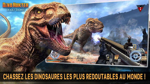 DINO HUNTER: DEADLY SHORES  captures d'u00e9cran 2