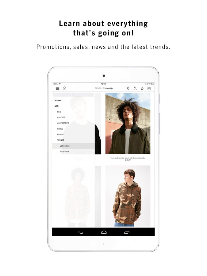 Bershka- screenshot