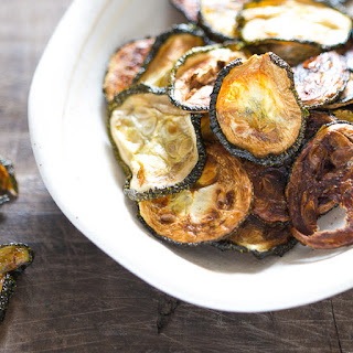 Baked Zucchini Chips Without Bread Crumbs Recipes
