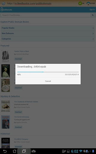 ePub Reader for Android 2.1.2 screenshots 14