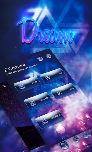 (FREE) Z CAMERA DREAM THEME screenshot 1