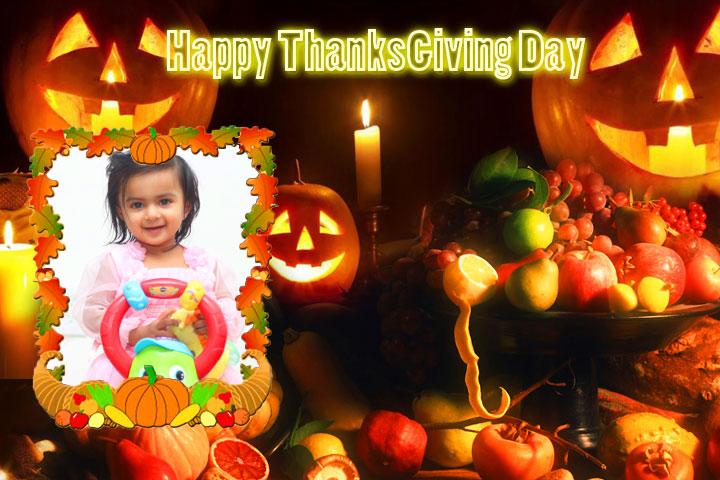 android Thanksgiving Day Photo Frames Screenshot 5