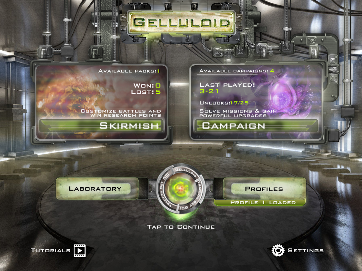 Gelluloid: Bio War Strategy- screenshot