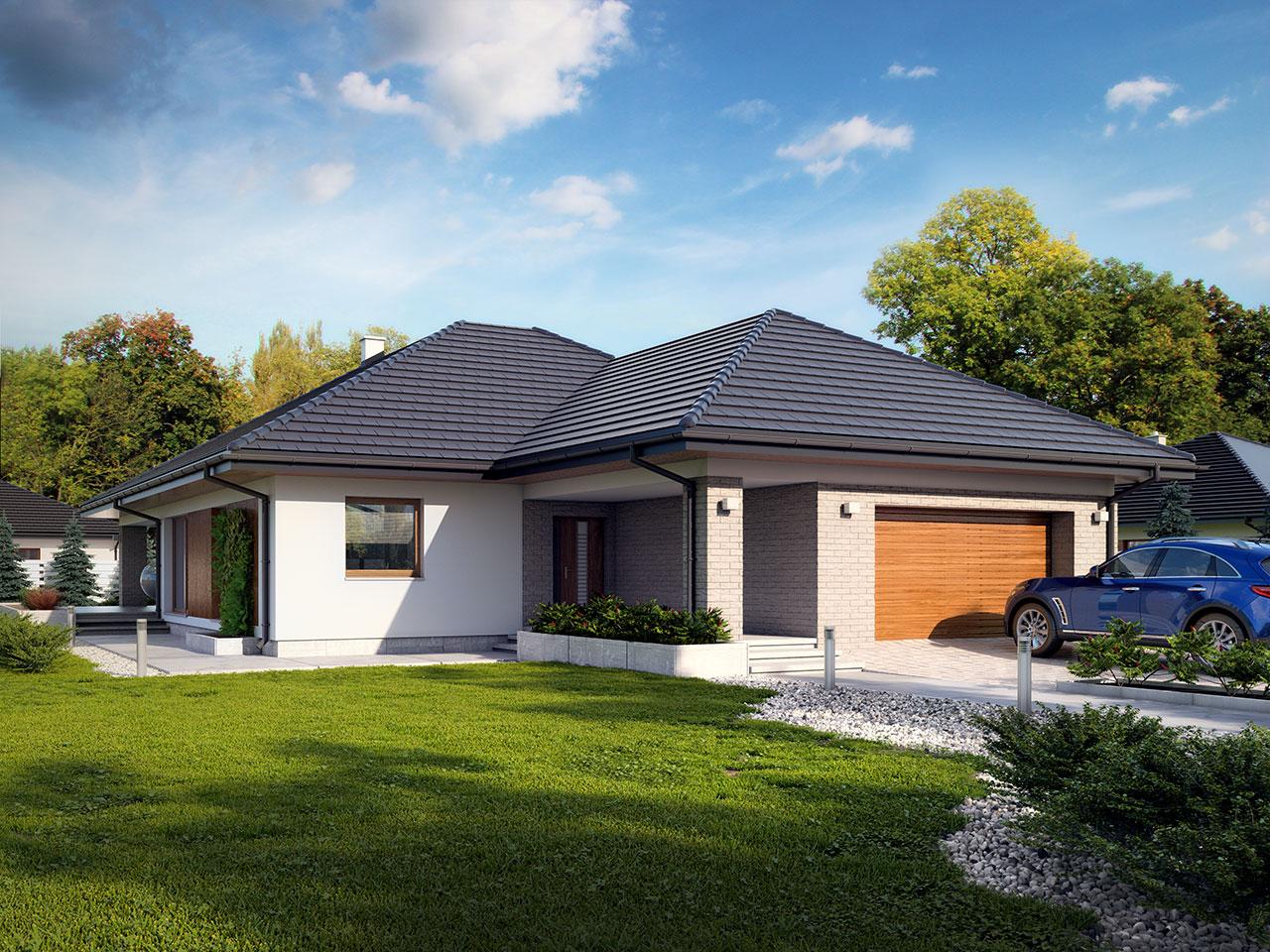 Projekt domu Della (TSL-964) - 164.33m²