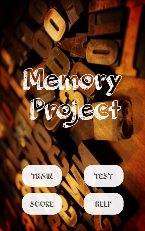 The Memory Project- screenshot