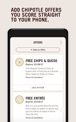 Chipotle Screenshot