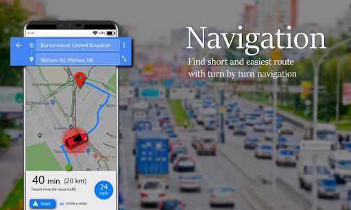 Voice GPS Driving Route : Gps Navigation & Maps screenshot 14