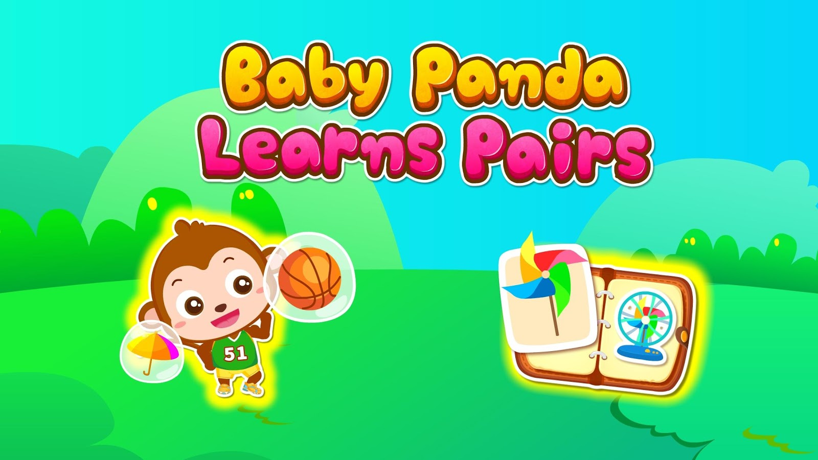 Baby Panda Learns Pairs- screenshot
