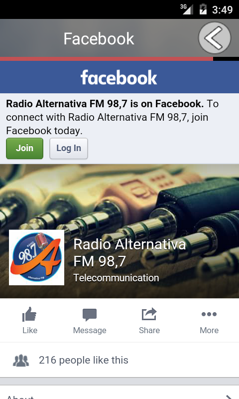 Rádio Alternativa FM Giruá- screenshot