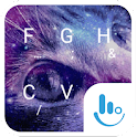 Galaxy Cat Keyboard Theme icon