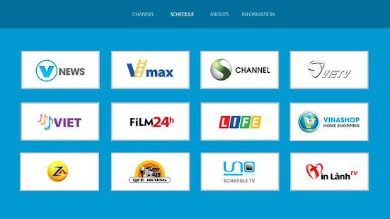 UNO IPTV for Smart TV - náhled
