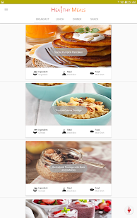 Healthy Eating - Healthy Food Recipes- screenshot thumbnail