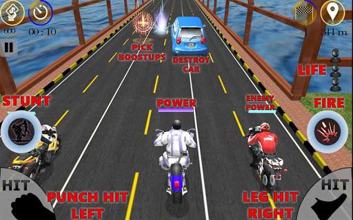 차 공격; 자전거 경주