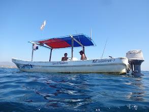 Photo: Nejlepší na týhle túře bylo to, že jsme měli loď pro 10 lidí sami pro sebe. Nikdo nám nepřekážel, s nikym jsme se nemačkali.