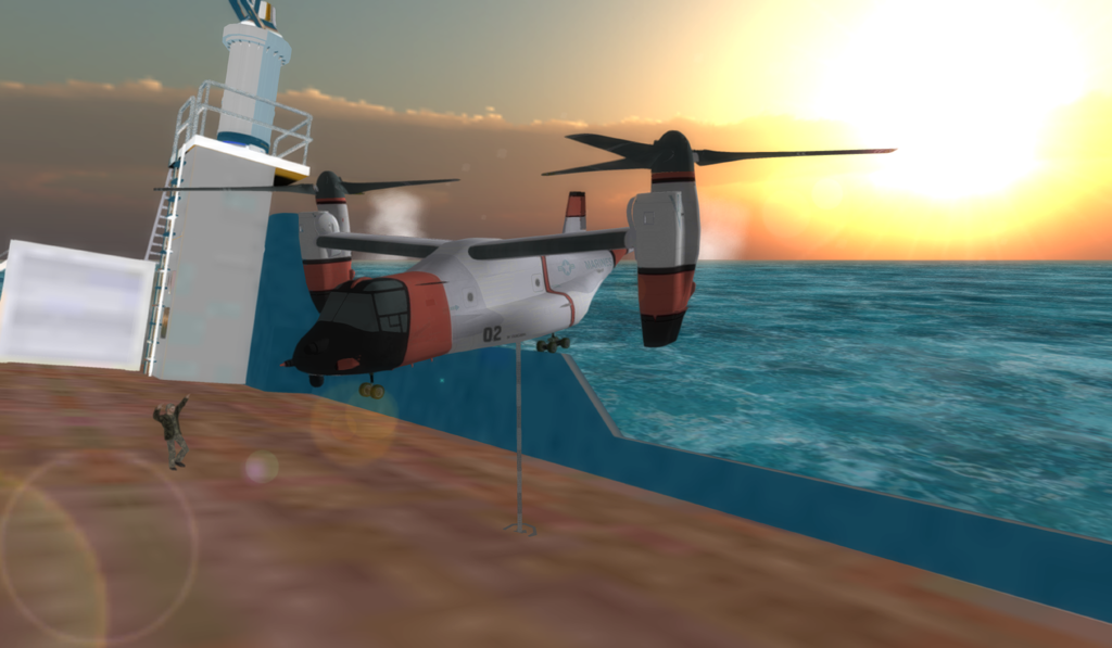 Airplane Helicopter Pilot 3D- screenshot